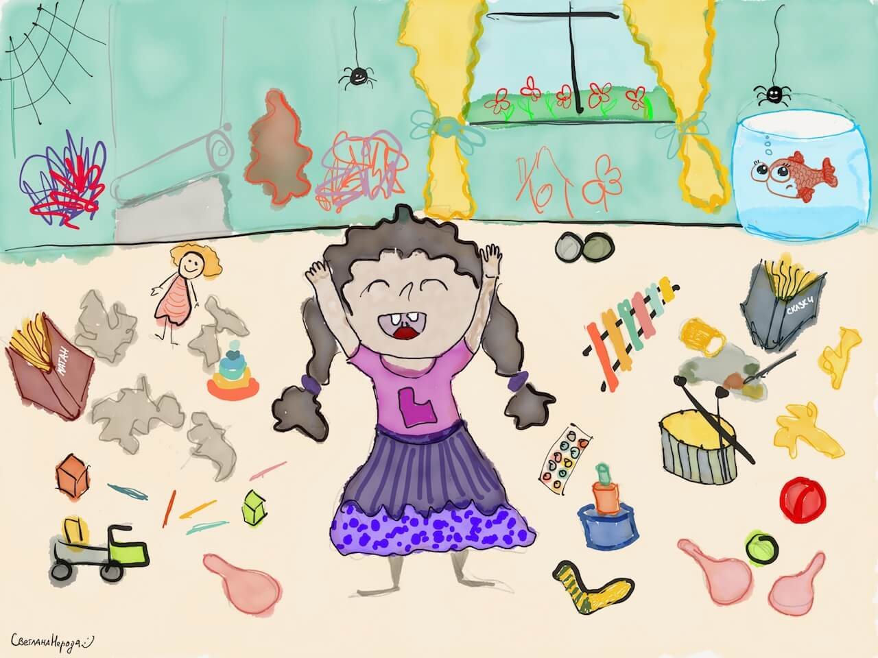 Психология в игрушках: инициатива и игрушка-пердушка